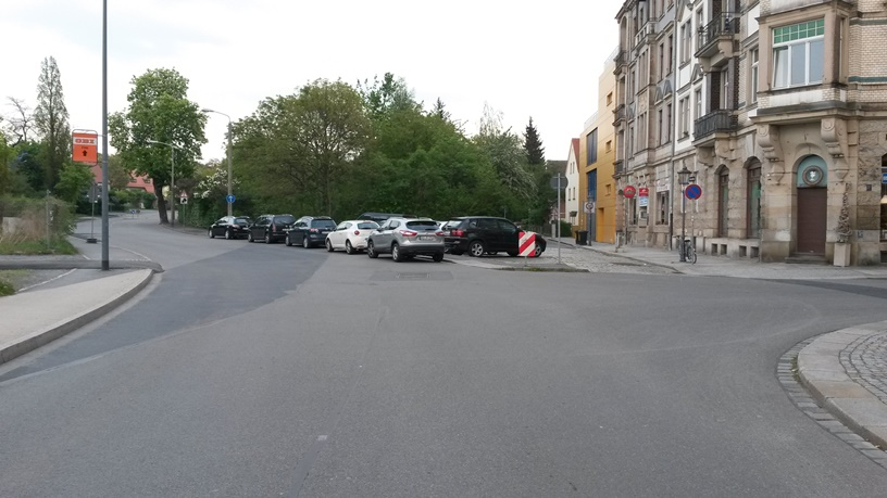 Kreuzung Lannerstraße Altstrehlen